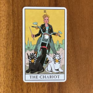 If your numerology birth number is seven, your tarot birth card - or tarot life card - is the Chariot.