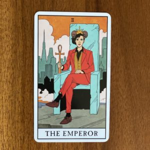 If your numerology birth number is four, your tarot birth card - or tarot life card - is the Emperor.