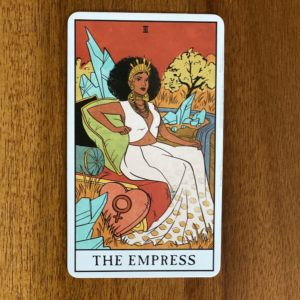 If your numerology birth number is three, your tarot birth card - or tarot life card - is the Empress.