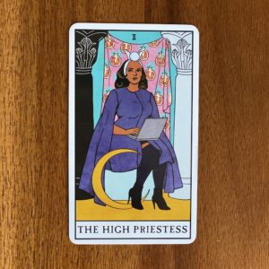 If your numerology birth number is two, your tarot birth card - or tarot life card - is the High Priestess.