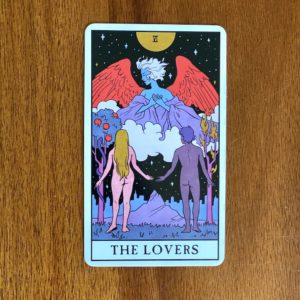 If your numerology birth number is six, your tarot birth card - or tarot life card - is the Lovers.
