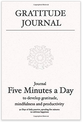 Gratitude Journal: Five Minutes a Day | Happy As Annie's 8 Best Gratitude Journals with Prompts