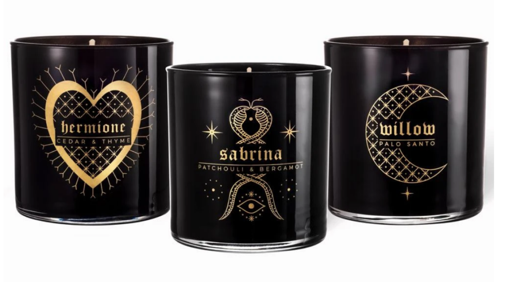 The Classic Coven candle set by Bijou on The Ultimate Witchy Gift Guide by Happy As Annie