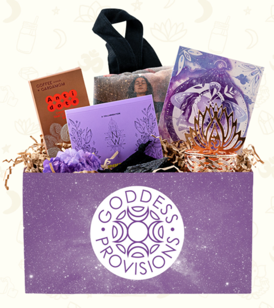 Three-month subscription to Goddess Provisions on The Ultimate Witchy Gift Guide by Happy As Annie