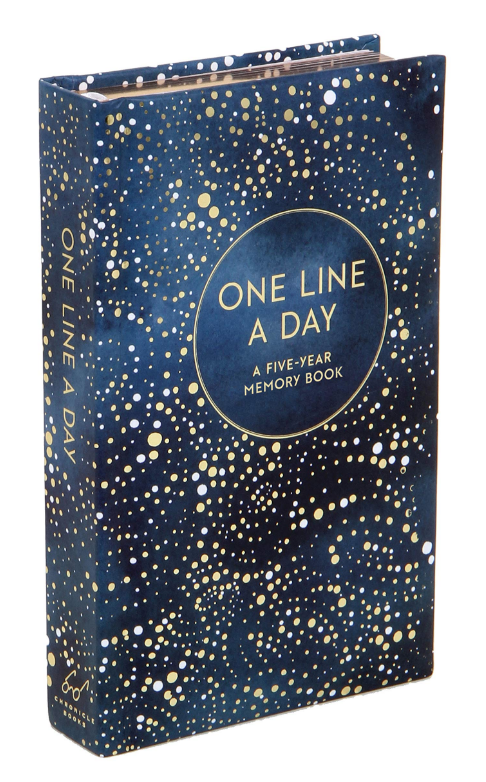Celestial one-line-a-day five year journal on The Ultimate Witchy Gift Guide by Happy As Annie
