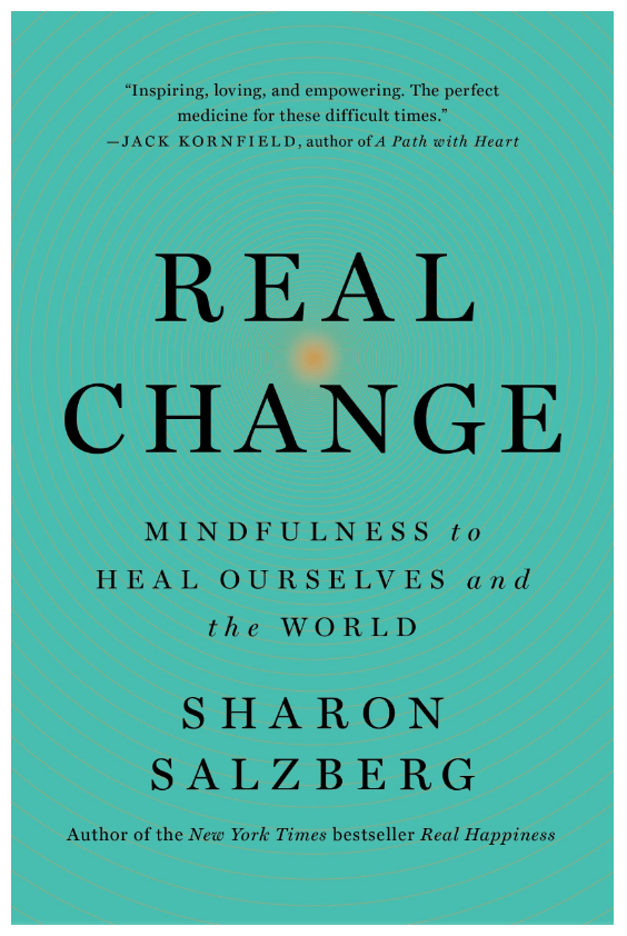 Real Change: Mindfulness to Heal Ourselves and Change the World by Sharon Salzberg on The Ultimate Witchy Gift Guide by Happy As Annie