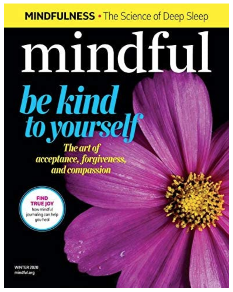 One year subscription to Mindful magazine on The Ultimate Witchy Gift Guide by Happy As Annie