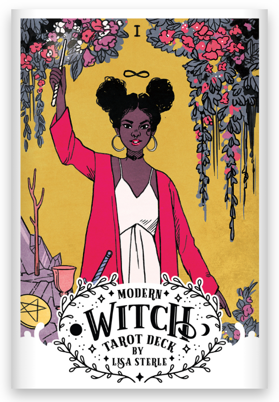 The Modern Witch tarot deck on The Ultimate Witchy Gift Guide by Happy As Annie
