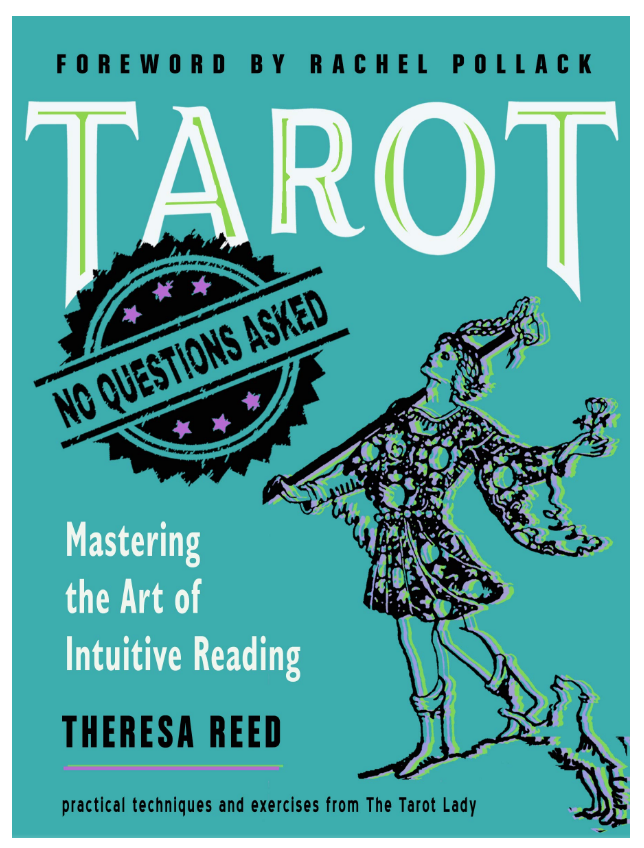 Tarot: No Questions Asked: Mastering the Art of Intuitive Reading by Theresa Reed on The Ultimate Witchy Gift Guide by Happy As Annie