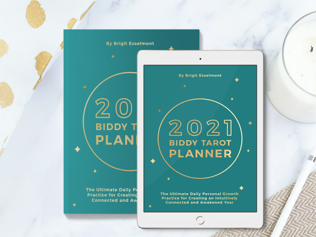 2021 Biddy Tarot Planner on The Ultimate Witchy Gift Guide by Happy As Annie