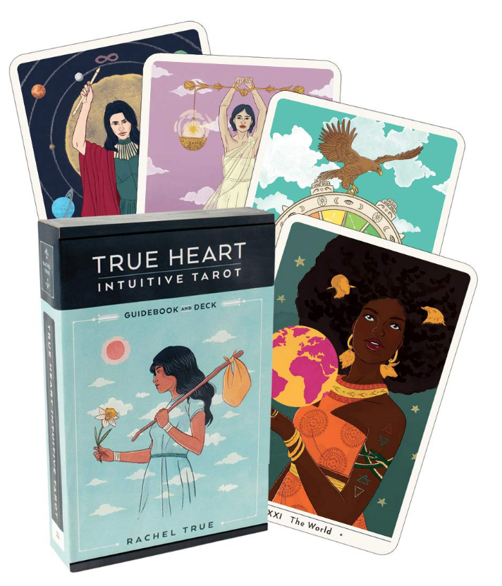 True Heart Intuitive tarot deck and guidebook on The Ultimate Witchy Gift Guide by Happy As Annie