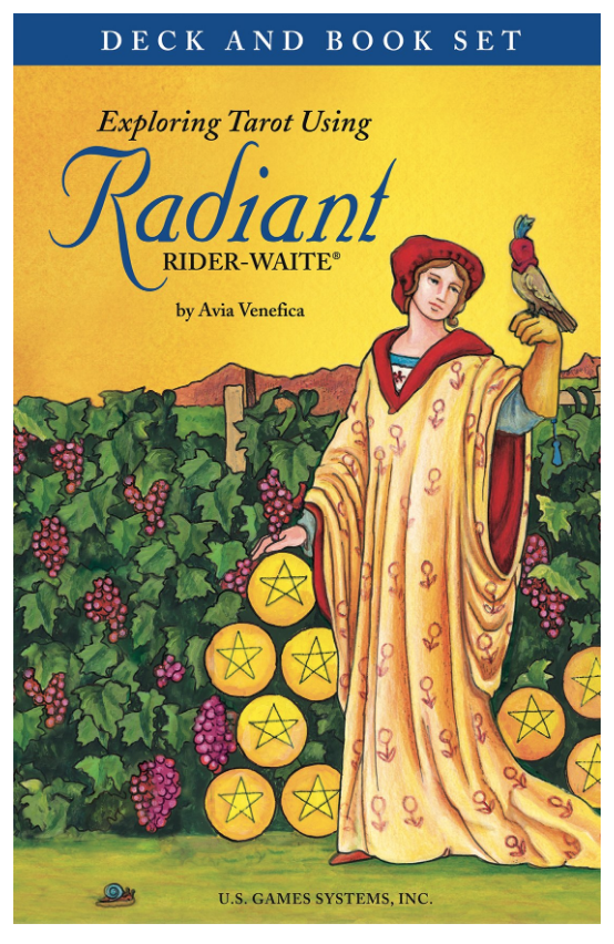 Radiant Rider-Waite tarot deck and book set on The Ultimate Witchy Gift Guide by Happy As Annie