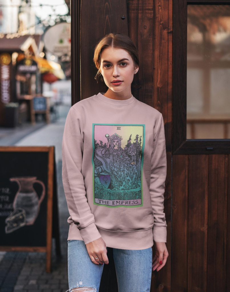 The Empress sweatshirt by Many Many Moons Ago on The Ultimate Witchy Gift Guide by Happy As Annie