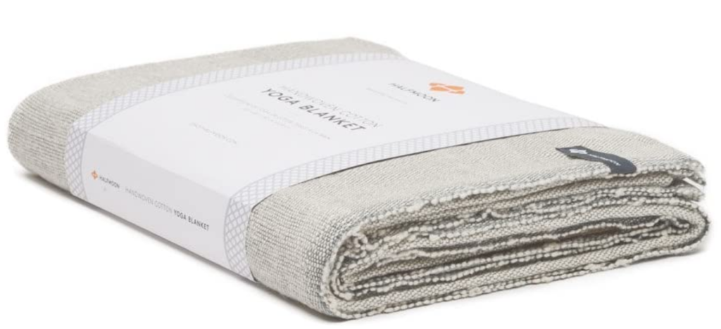 Classic 100% cotton yoga blanket on The Ultimate Witchy Gift Guide by Happy As Annie