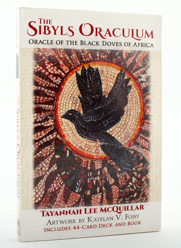 The Sibyls Oraculum: Oracle of the Black Doves of Africa cards on The Ultimate Witchy Gift Guide by Happy As Annie