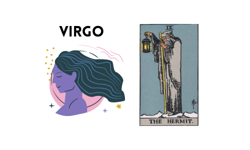 Tarot and Astrology Correspondence - Virgo and Hermit
