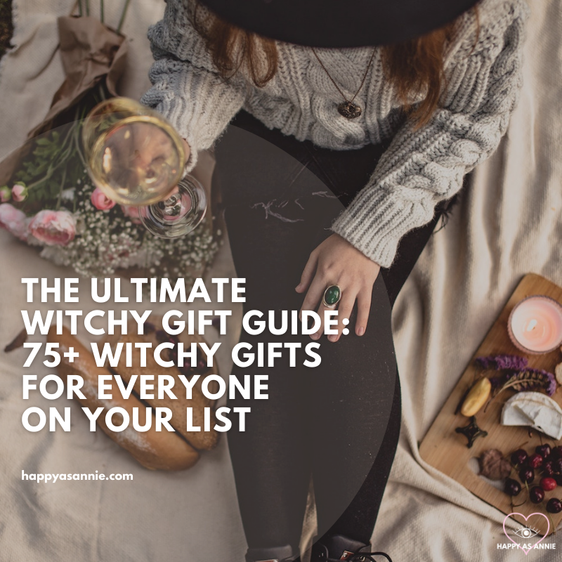 The Ultimate Witchy Gift Guide by Happy As Annie | 75+ Witchy Gifts for Everyone On Your List