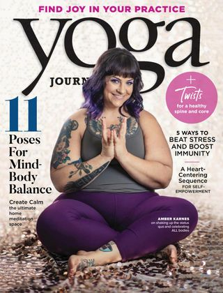 One year subscription to Yoga Journal magazine on The Ultimate Witchy Gift Guide by Happy As Annie