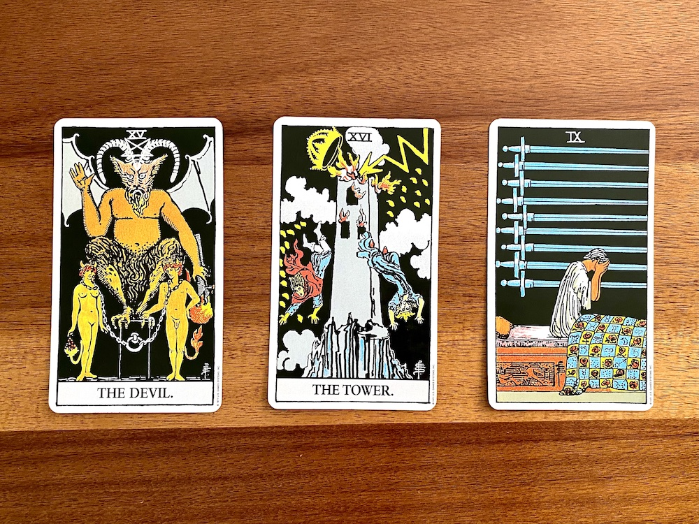 Color Symbolism: The Meaning of Colors in Tarot | Happy As Annie. What does black mean in tarot?