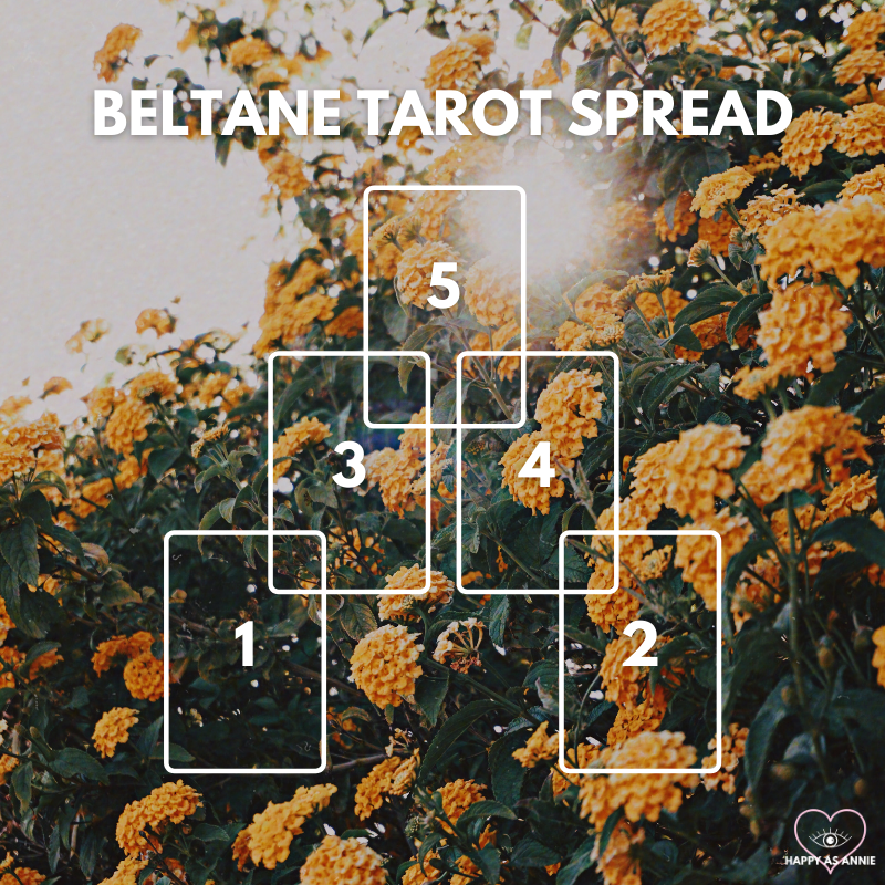 Beltane Tarot Spread | How to Celebrate Beltane - 5 Easy Ways! by Happy As Annie