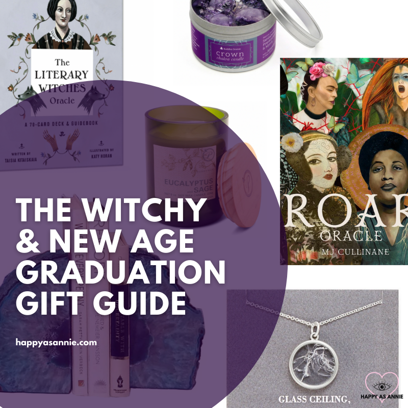 The Ultimate Graduation Gift Guide for the New Age Witchy Grad by Happy As Annie