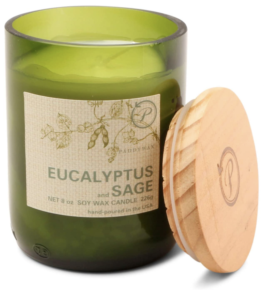 Eucalyptus and Sage Candle by Paddywax Candles | The Ultimate Graduation Gift Guide for the New Age Witchy Grad by Happy As Annie