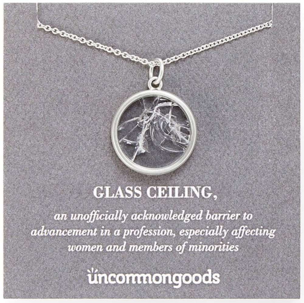 Shattered Glass Ceiling Necklace by Uncommon Goods | The Ultimate Graduation Gift Guide for the New Age Witchy Grad by Happy As Annie