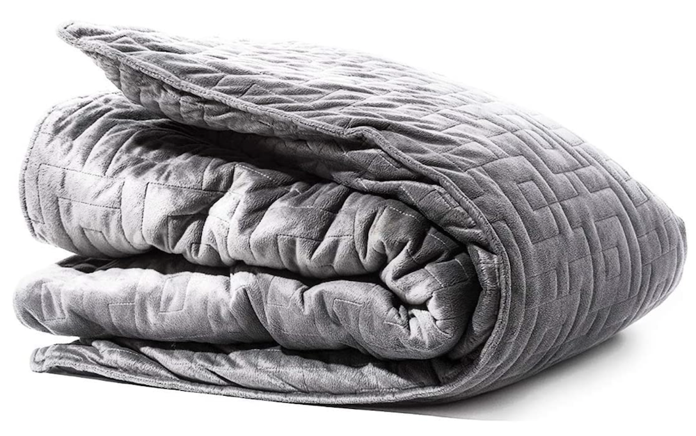 Tranquility Weighted Blanket on Amazon | The Ultimate Graduation Gift Guide for the New Age Witchy Grad by Happy As Annie