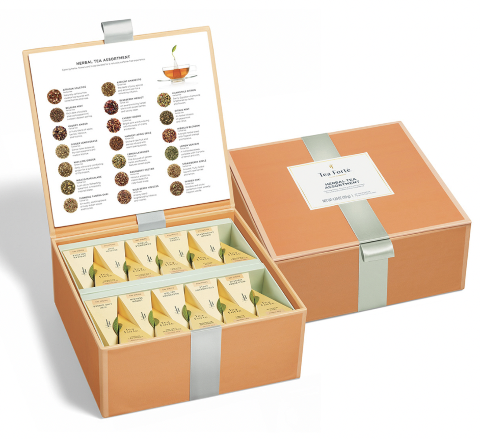 Tea Forte Herbal Tea Collection | The Ultimate Graduation Gift Guide for the Witchy New Age Grad by Happy As Annie